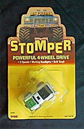 Toyota Route 4 >> Stompers: Happy Meal Toys